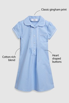 Lace Gingham Dress (3-14yrs)
