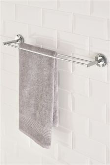 Deco Double Towel Rail