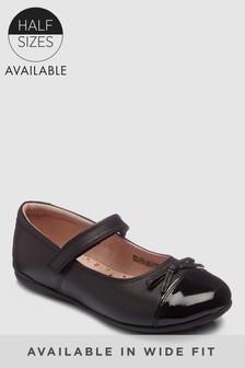 Patent Toe Cap Shoes (Older Girls)