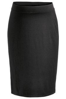 Black Jersey Tube Skirt (Maternity)