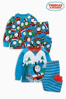 Thomas Pyjamas Two Pack (9mths-6yrs)