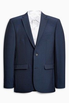Wool Blend Suit: Jacket