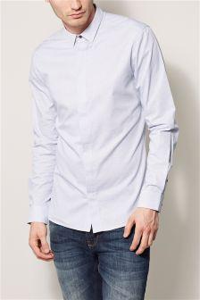 White Dot Long Sleeve Shirt