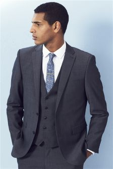 Wool Rich Blend Suit