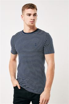 Stripe Muscle T-Shirt