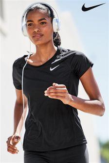Nike Run Black Miler Tee