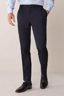 Mens Skinny Trousers | Smart Skinny Fit Trousers For Men | Next