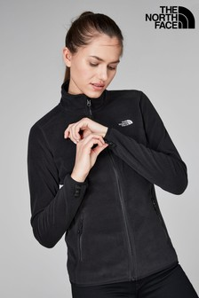 The North Face® Black 100 Glacier Full Zip