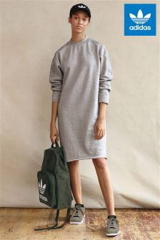 adidas Originals Grey Sweater Dress