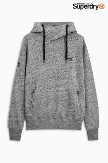 Superdry Grey Orange Label Urban Overhead Hoody