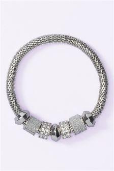 Sparkle Beady Expander Bracelet