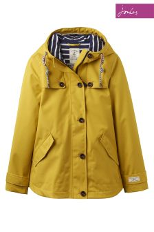 Joules Antique Gold Hooded Coast Jacket