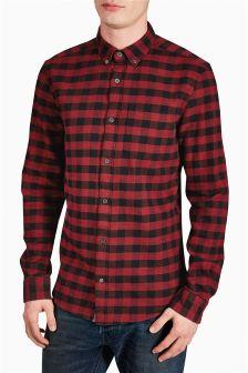 Buffalo Check Long Sleeve  Shirt