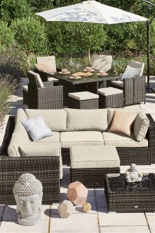 Monaco Corner Sofa Set