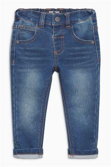 Jersey Denim Jeans (3mths-6yrs)