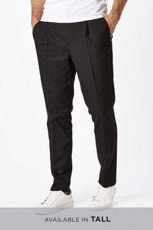 Formal Pleated Trousers