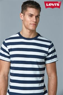 Levi's® Blue Mighty Striped T-Shirt
