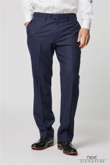 Signature Flannel Suit: Trousers
