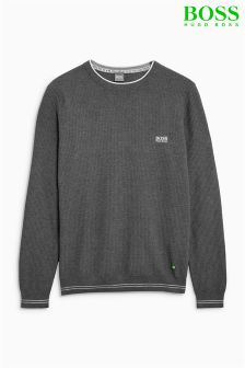 Boss Green Rome Knitted Crew Neck Jumper