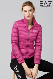 Emporio Armani EA7 Rouge Down Jacket