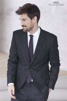 Signature Prince Of Wales Check Tailored Fit Suit