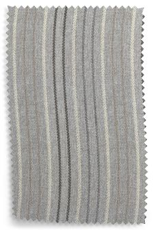 Brushed Stripe Grey Fabric Roll
