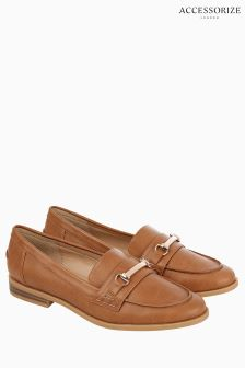 Accessorize Tan Blake Loafer