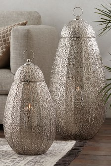 Buy Candles And Lanterns Silver From The Next Uk Online Shop