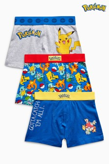 Pokémon™ Trunks Three Pack (2-12yrs)