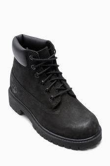 """Timberland® Black Premium 6"""" Boot"""