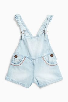 Frill Strap Dungarees (3mths-6yrs)