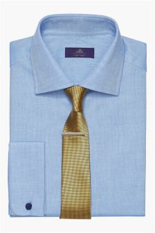Deep Full Cut Collar Shirt