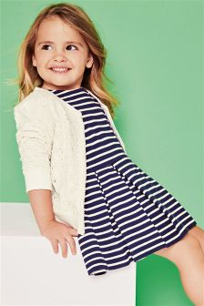 Navy Stripe Tunic (3mths-6yrs)