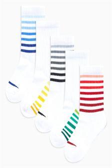 Sports Socks Five Pack (Older)