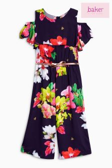 Baker By Ted Baker Blue Orchid Jumpsuit