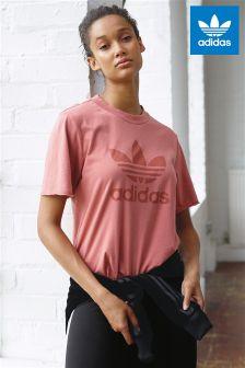 adidas Originals Pink Trefoil Tee