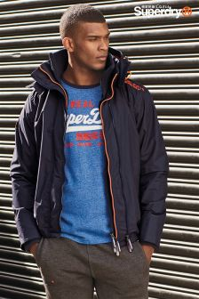 Superdry Navy Pop Zip Arctic Windcheater