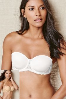 Phoebe Light Pad Multiway Bras Two Pack