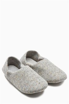 Collapsible Heel Close Back Slipper