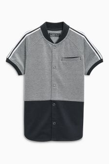 Baseball Neck Shirt (3-16yrs)
