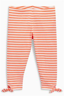 Stripe Tie Side Leggings (3-16yrs)