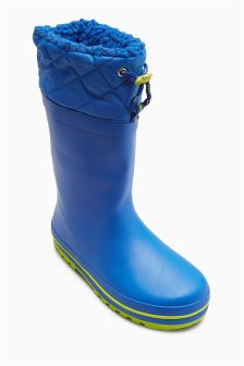 Cuff Wellies (Older Boys)