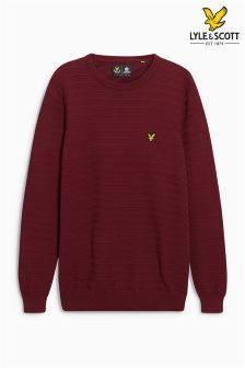 Lyle & Scott Rib Knitted Jumper
