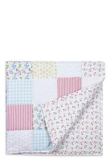 Little Poppet Cot Bed Quilt