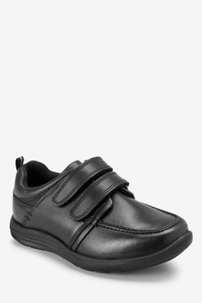 Two Strap Sporty Leather Shoes (Older Boys)