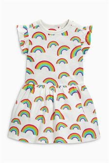 Rainbow Print Tunic (3mths-6yrs)