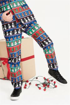 Boys Christmas Trousers (3-16yrs)