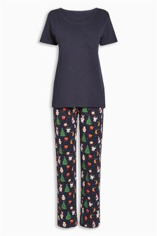 Christmas Printed Pyjamas