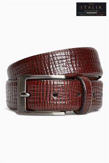 Signature Textured Leather Belt