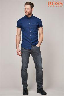 BOSS Black 90 Tapered Fit Jean